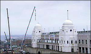 Wembley's twin towers