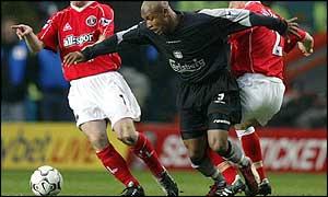 Bbc Sport Football Eng Prem Charlton Sink Sorry Liverpool