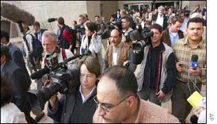Journalists in Baghdad
