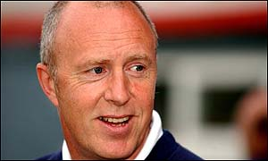 Morecambe boss Jim Harvey