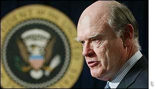 John Snow,  US Treasury Secretary designate
