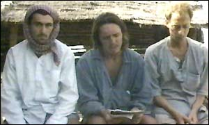 The three victims: Jean-Michel Braquet, David Wilson and Mark Slater