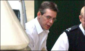 Jeremy Bamber arrives at court during the appeal process