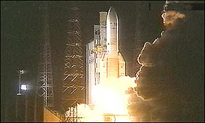 Ariane at lift-off