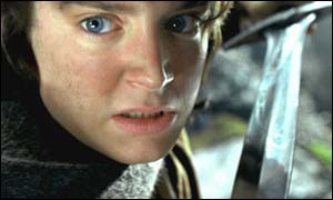 Frodo Baggins played by Elijah Wood