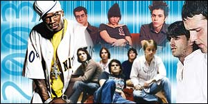 Some of the stars of 2003