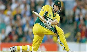Matthew Hayden was in magnificent form for Australia