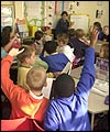 School pupils in classroom