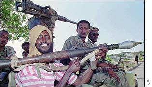 Somali guerrillas