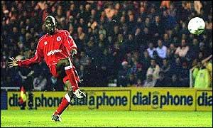 Middlesbrough midfielder Geremi scored the opening goal