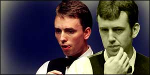 Mark Williams edged out Ken Doherty