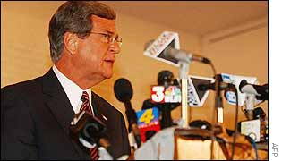 Senate Republican leader Trent Lott