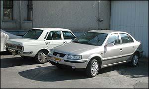 The Paykan and Samand cars