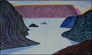 Hockney's Fjord Kom�yvraer