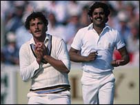 Roger Binny and Kirti Azad
