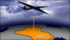 Plane/Iraq graphic