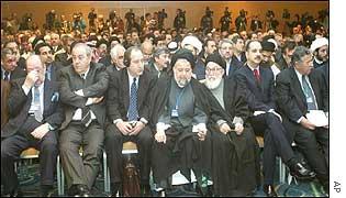Iraqi opposition delegates