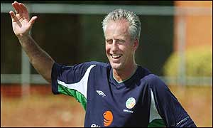 Mick McCarthy was Ireland's manager during the 2002 World Cup but resigned in November