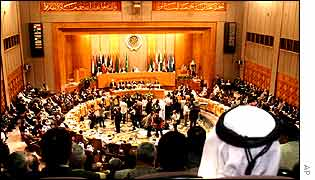 The Arab League in Cairo
