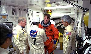 British-born Michael Foale, Nasa