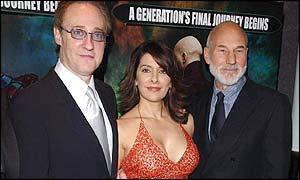 Trek Stars: Brent Spiner, Marina Sirtis and Patrick Stewart