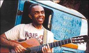 Gilberto Gil: now Brazil's culture minister
