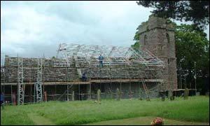 St Cadoc's church, Llangattock Lingoed