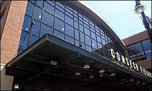 Conseco Fieldhouse, home to the Indianapolis Pacers basketball team