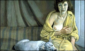 Lucian Freud's Girl With White Dog