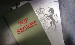 Top Secret BBC graphic