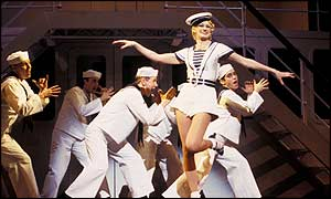 Annette McLaughlin in Anything Goes
