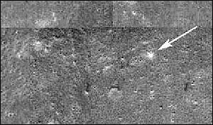 Image of moon surface