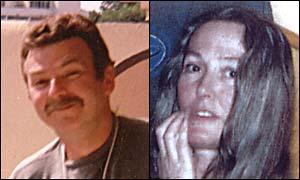 Missing persons Roger Evans, Ellen Coss