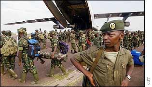 Rwandan troops leaving DR Congo