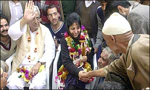 Kashmir chief minister Mufti  Mohammad Sayeed