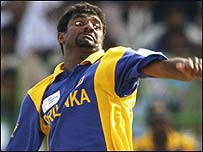 Muttiah Muralitharan is sixth in the list of all-time wicket-takers in one-day internationals