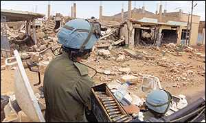 UN soldiers in Eritrea [UN picture]