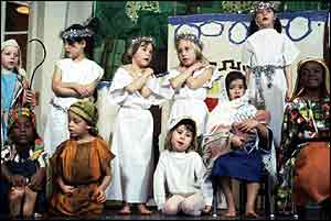 School nativity play   BBC