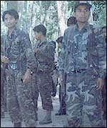 Separatist guerrillas in Assam