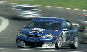 Will Hoy competing at Brands Hatch in 1998