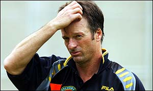 Steve Waugh's future is again subject to speculation