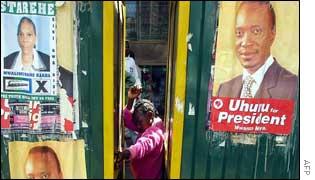 Posters for Uhuru Kenyatta