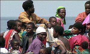 Refugees from DR Congo