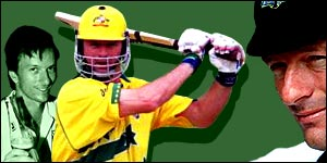 Steve Waugh's career spans 17 years and many highights