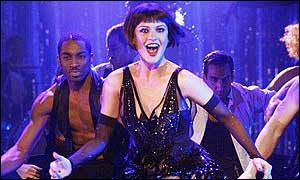 Catherine Zeta Jones in the musical Chicago