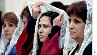 BBC NEWS | Middle East | Syrian Christians have faith in Muslim world