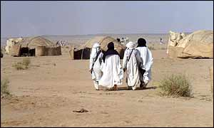 Nomads in the Niger desert