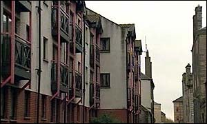New Bell's Court in Leith