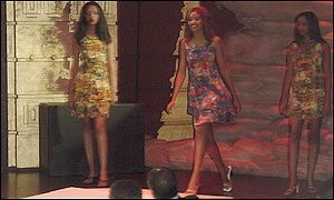 Fashion show in Addis Ababa 