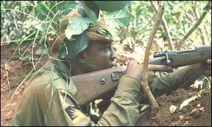 Biafran fighter